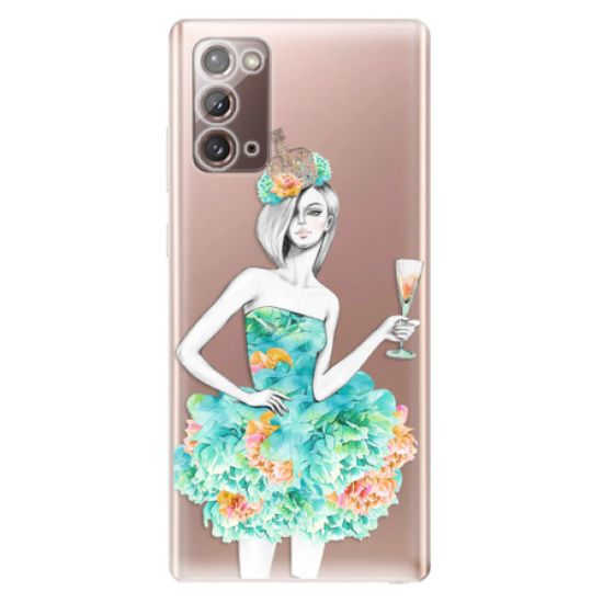 iSaprio Silikonowe etui - Queen of Parties na Samsung Galaxy Note 20