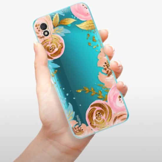 iSaprio Silikonowe etui - Golden Youth na Xiaomi Redmi 9A