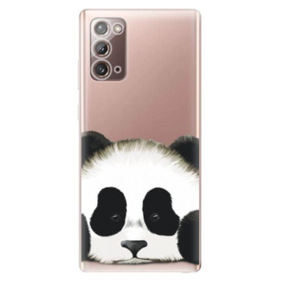 iSaprio Sad Panda szilikon tok Samsung Galaxy Note 20