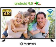 """Manta 43LUA120S 4K UHD LED televizor, 109 cm (43 """"), Smart TV"""
