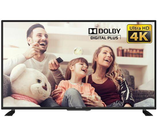 Manta 43LUA120S 4K UHD LED televizor, 109 cm, Android Smart TV