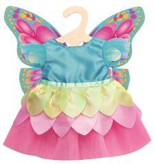 Heless obleka z metulji za lutko, 35-45 cm