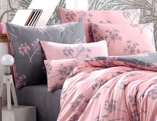 BedTex posteljnina Idil 140x200/ 70x90 cm, roza