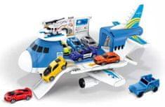 Letadlo rozkládací s autíčky
