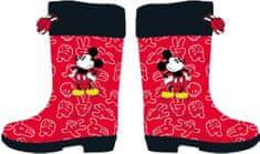 Disney Mickey Mouse 2300004444 gyerek csizma, 26, piros