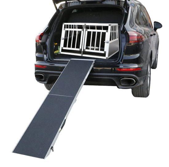 BestPet Nástupní skládací rampa do auta pro psy 183x38 cm