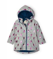 Hatley dekliška jakna, 104, siva