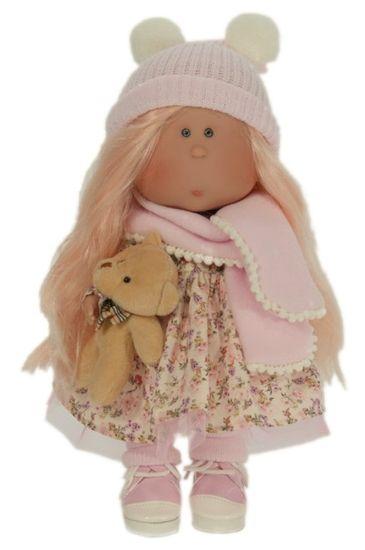 Nines 33042 Mia lutka, ružičasta, 30 cm