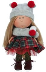 Nines 33072 Mia lutka, siva, 30 cm