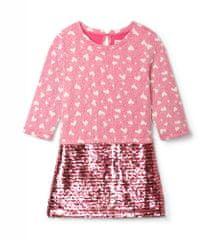 Hatley dekliška obleka, 122, roza