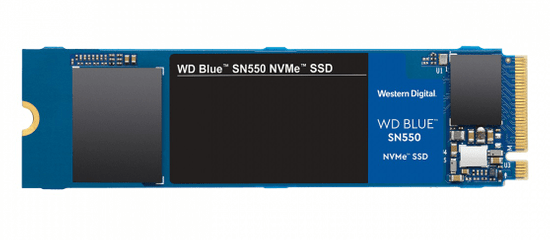 Western Digital Blue SN550 SSD disk, 500 GB, NVMe, M.2 2280 (WDS500G2B0C)