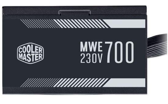 Cooler Master MWE White napajalnik, 700 W, ATX