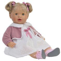 Nines 38001 Lalka Claudia z włosami, mrugająca, 55 cm, z dźwiękiem