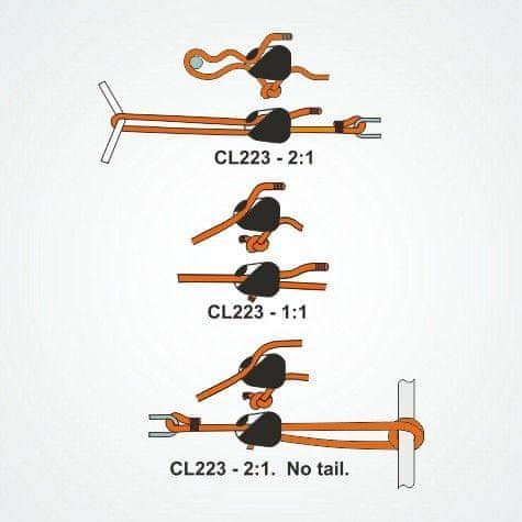 Mastrant  Loop Cleat Tensioner 3-6mm