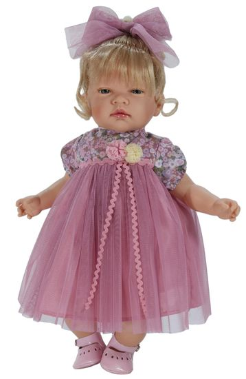 Nines 36560 Lalka Celia z włosami, 45 cm