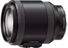 Sony objektiv 18-200 mm F3,5-6,3 E PZ OSS (SELP18200)