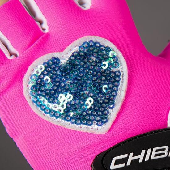 CHIBA Cyklistické rukavice pro děti COOL KIDS Srdce
