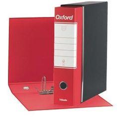 Esselte Oxford registrator, A4/80, rdeč