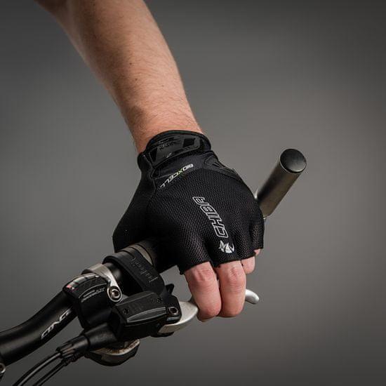 CHIBA Cyklistické rukavice pro dospělé BioXCell Air Čierne