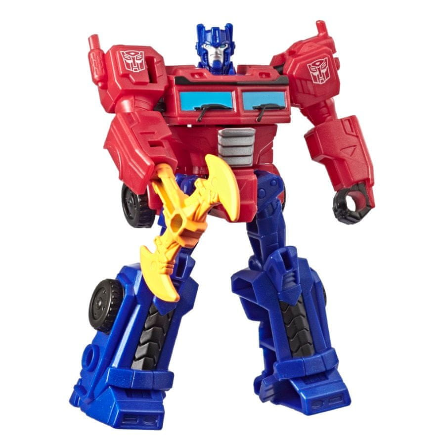Transformers Cyberverse 3-5 kroků transformace – Optimus Prime