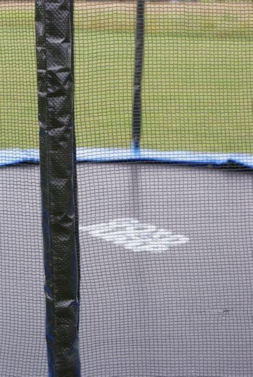 Goodjump GoodJump TOP 4UPVC modrá trampolína 305 cm s ochrannou sítí + žebřík + krycí plachta + kotvící sada 4 (ks)