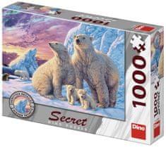 DINO puzzle Secret collection: Niedźwiedzie polarne 1000 elementów