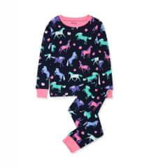 Hatley djevojačka pidžama, tamnoplava, 104