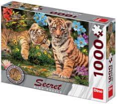 DINO puzzle Secret collection: Tygrysy 1000 elementów