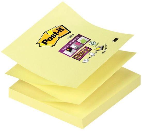 3M R-330 Z Post-it samolepilni lističi, rumeni, 76x76