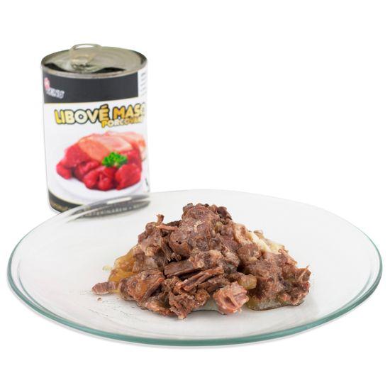 Akinu Premium konzerva za pse, pusto meso, 8x 400 g
