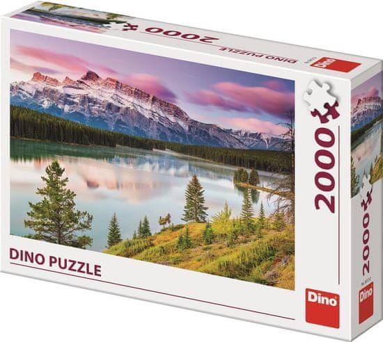 Dino Skalnaté hory puzzle 2000 dílků