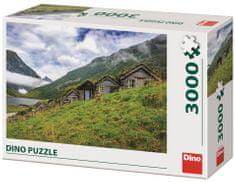 Dino Norangsdalen valley sestavljanka, 3000 delov