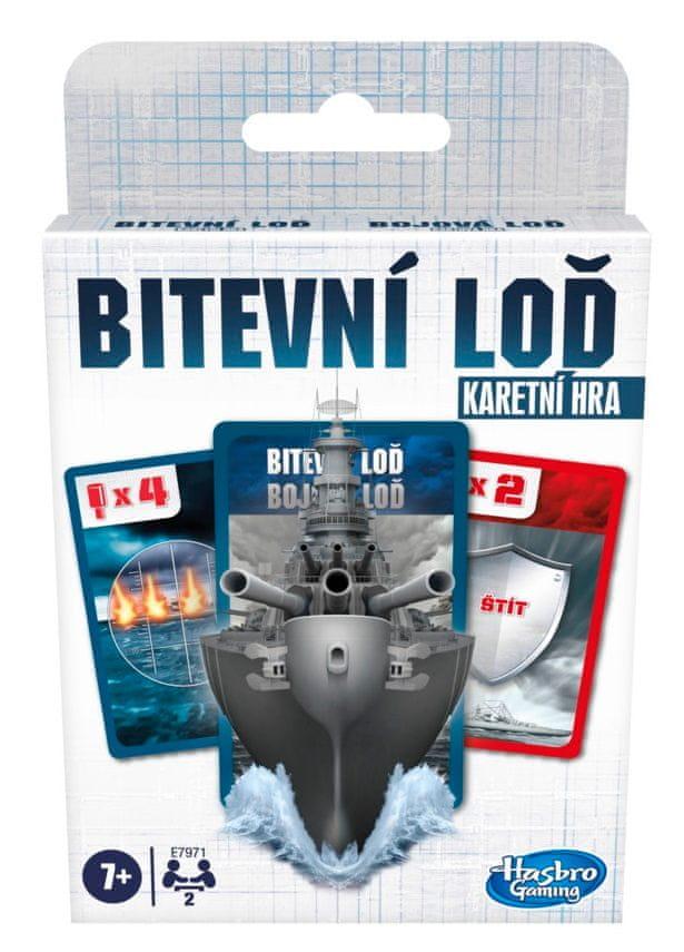 Hasbro Karetní hra Bitevní lodě