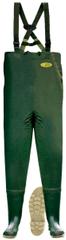 Lemingo Prsačky Cheastwaders, zelené č.6, obuv 40