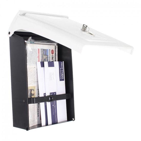 Rottner poštni nabiralnik, plastika, bel