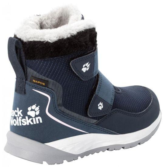 Jack Wolfskin otroški gležnarji Polar Wolf Texapore MID VC K 4036172-1171, 35, temno modri - Odprta embalaža