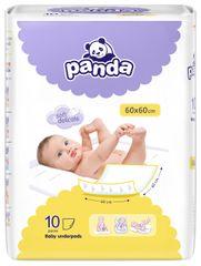 Panda Bella Happy detské prebaľovacie podložky 60x60cm 10ks