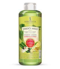 Kozmetika Afrodita tekoče milo za roke, Lemon Grass, 1000 ml