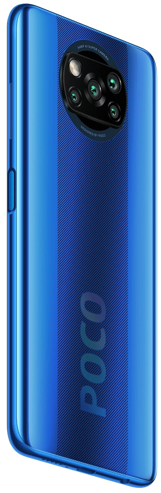 Xiaomi POCO X3 NFC, 6GB/128GB, Cobalt Blue - rozbaleno