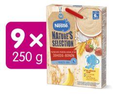 Nestlé NATURE´S SELECTION pšenično-ovesno-žitná Jahoda Banán (9× 250g) EXPIRACE 7/2021