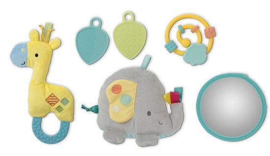 Bright Starts Deka na hraní Hug-n-Cuddle Elephant 0m+