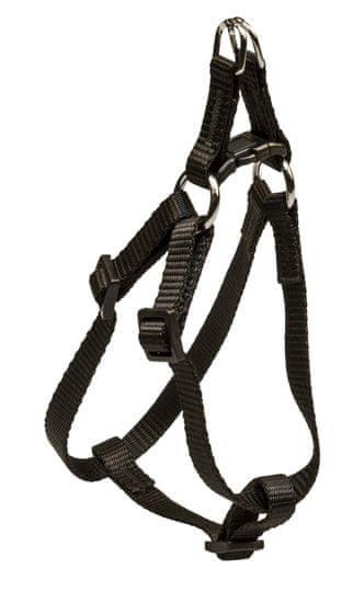 BAFPET ogrlica za pse, jednobojna, crna