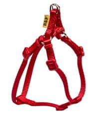 BAFPET szelki dla psa JEDNOKOLOROWE, czerwone, rozm. XL