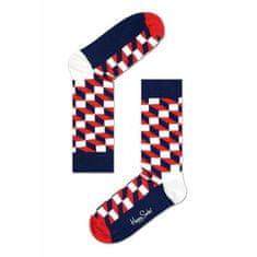 Happy Socks Ponožky Filled Optic (FO01-068) - veľkosť M