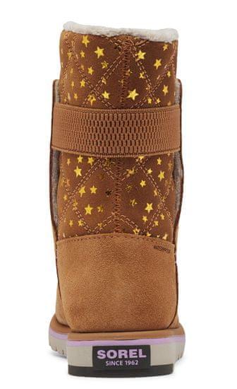 Sorel Youth Rylee Brown Stars Elk dekliški zimski škornji