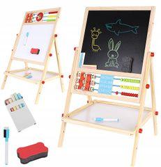 iMex Toys Multifunkční oboustranná tabule pro děti 42 x 32,5 cm