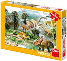 Dino Življenje dinozavrov, 100XL kosov