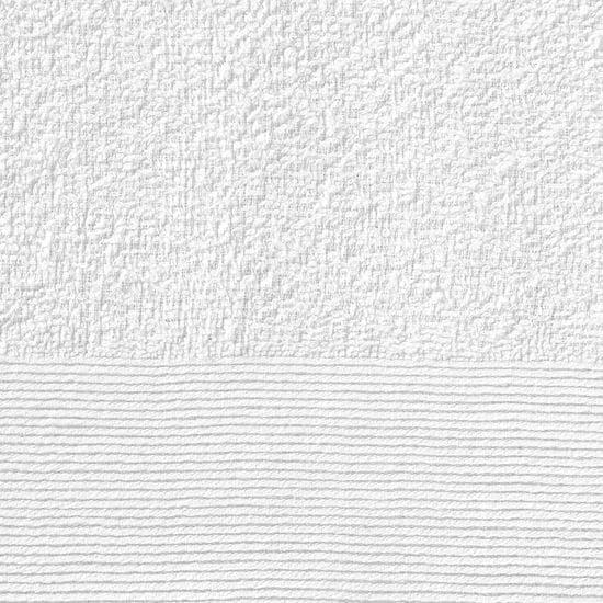 shumee Brisače za roke 25 kosov bombaž 350 gsm 50x100 cm bele