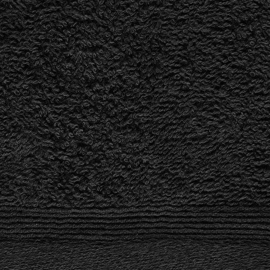 shumee Brisače za goste 10 kosov bombaž 450 gsm 30x50 cm črne