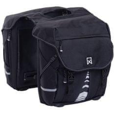 shumee Willex Bicyklové tašky XL 1200 čierne 50 l 13611